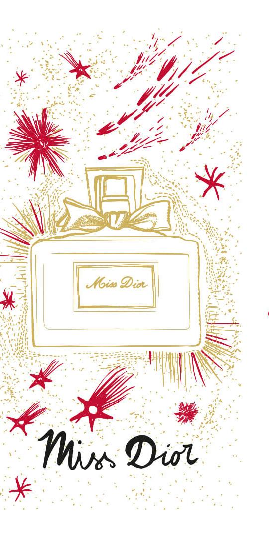 Illustration Jeu De Cartes Dior 1