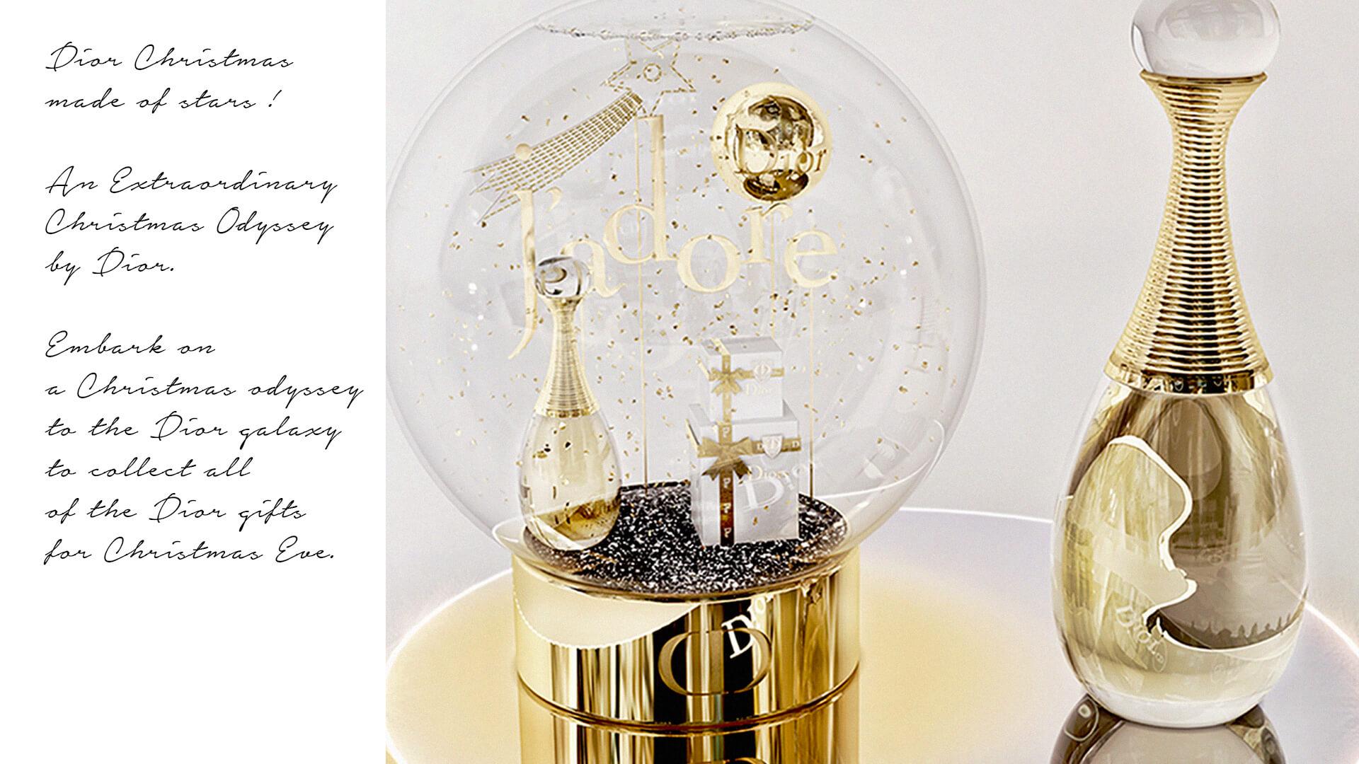 Boule A Neige Noel Xmas Dior 3 Design Objet