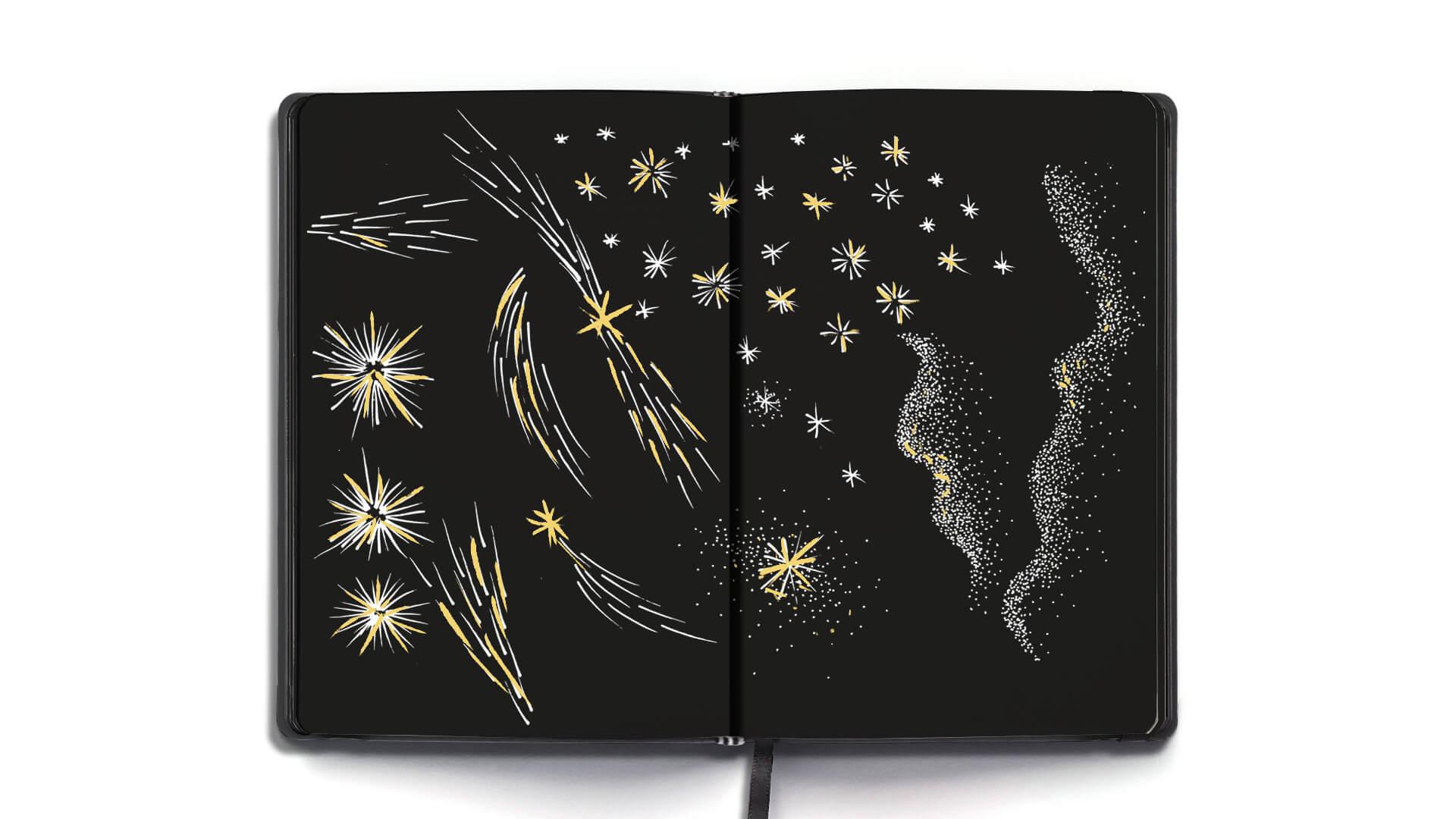 Illustration Xmas Dior 2020 3