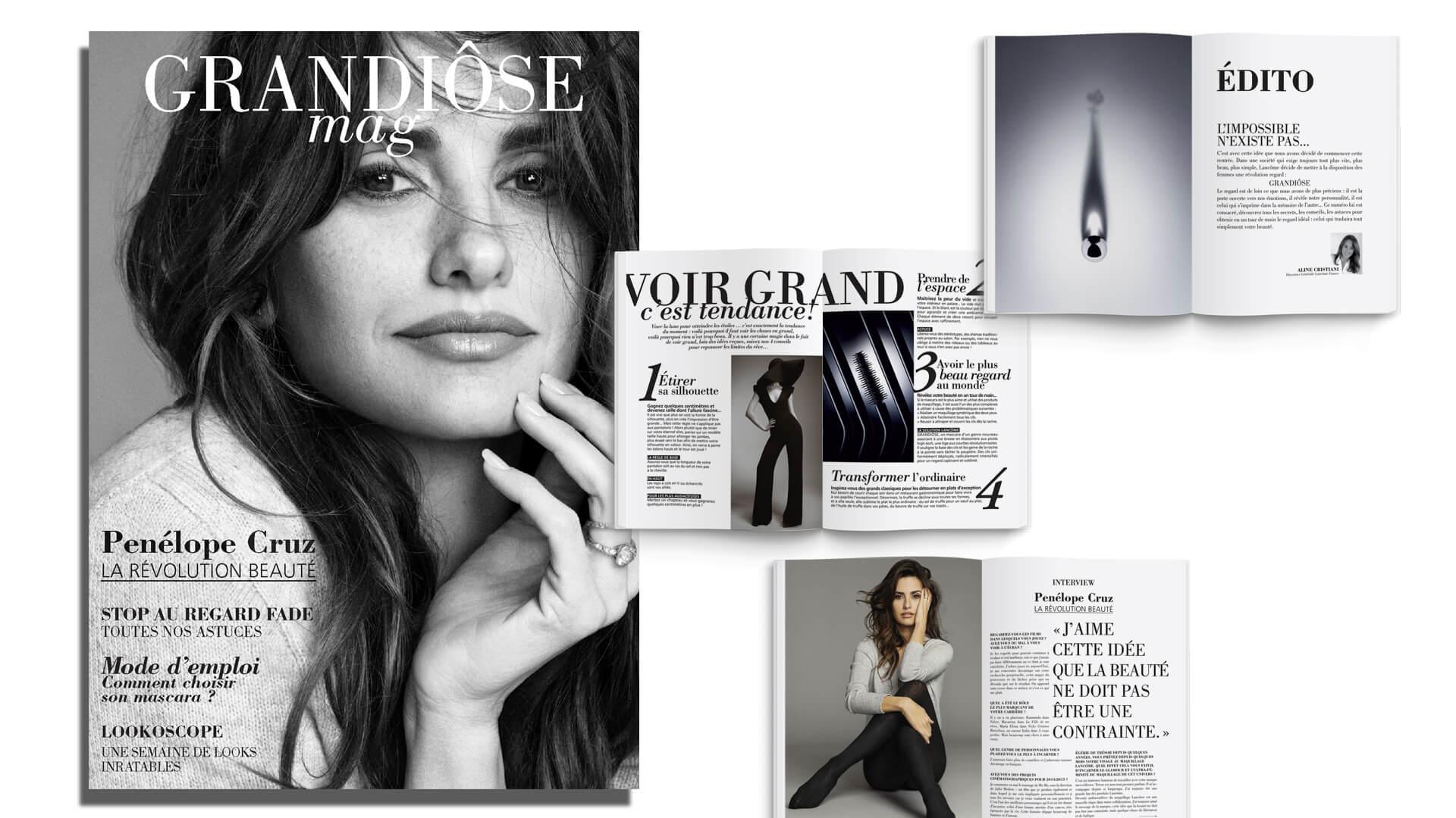 Grandiôse magazine - édition