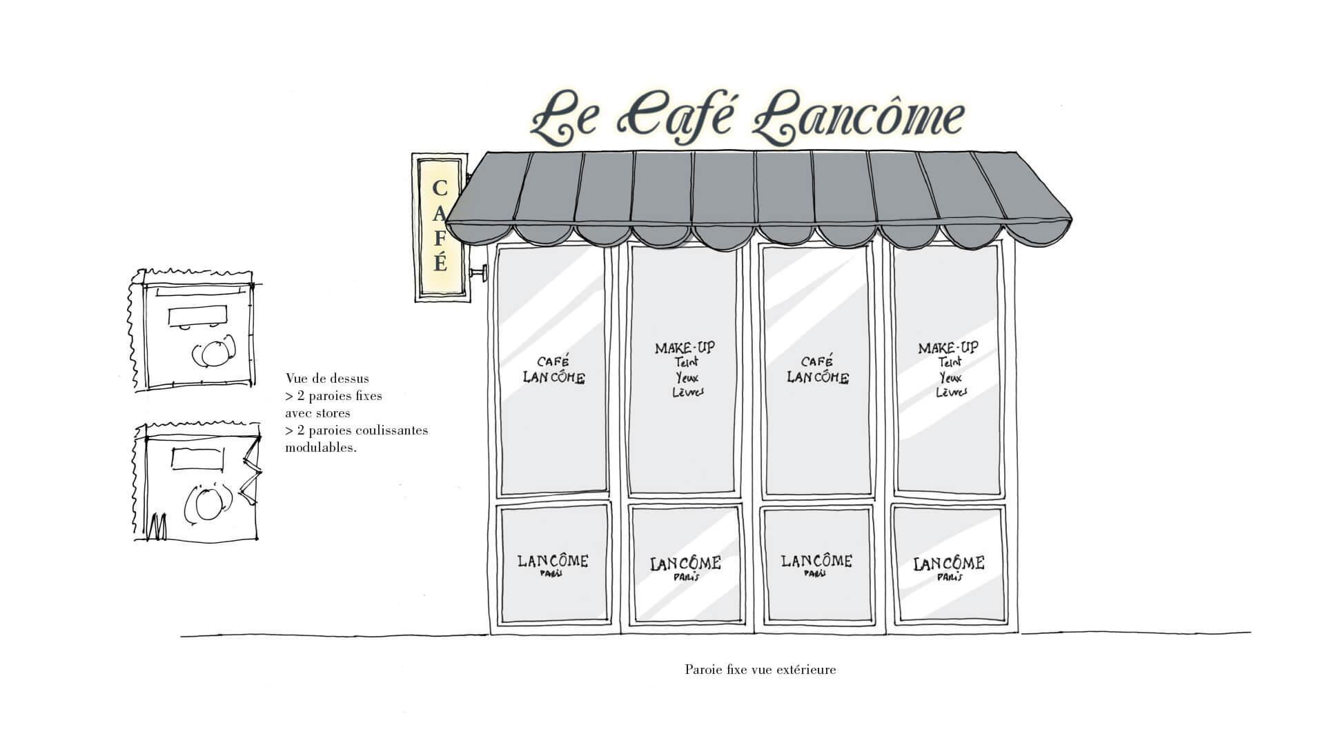 Podium Cafe Lancome Sephora 2