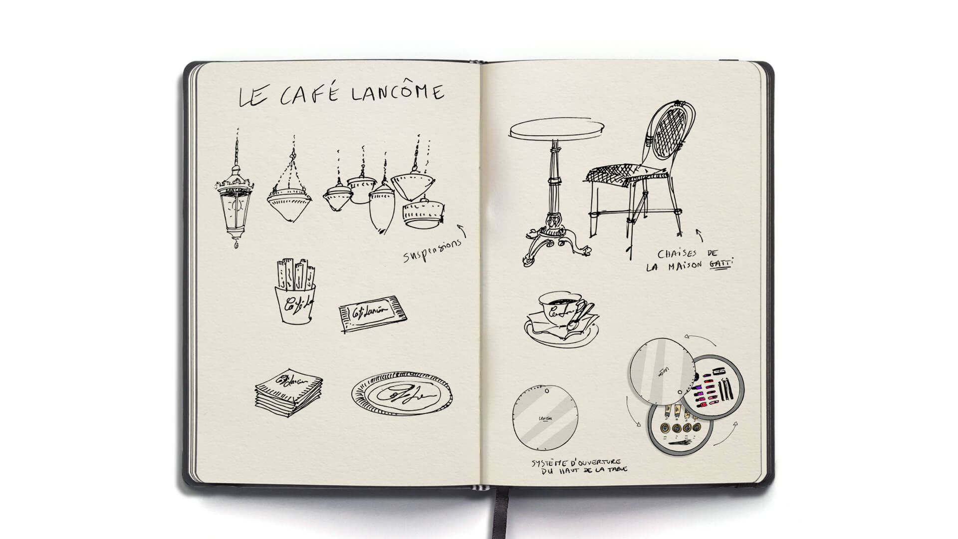 Podium Cafe Lancome Sephora 3