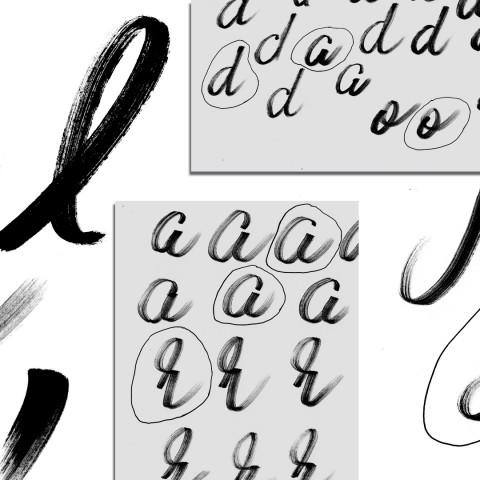 Typographie Manuscrite 6