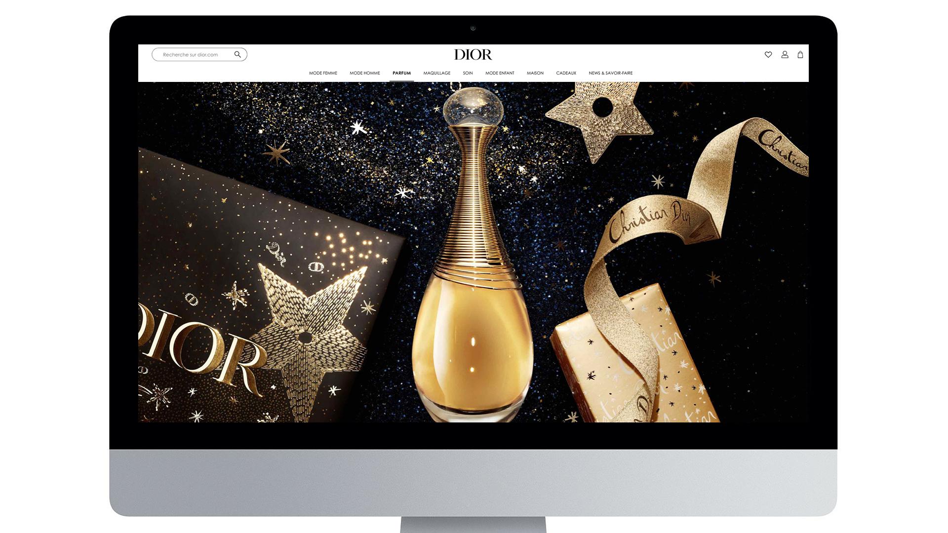 Illustration Xmas Dior 2020 10