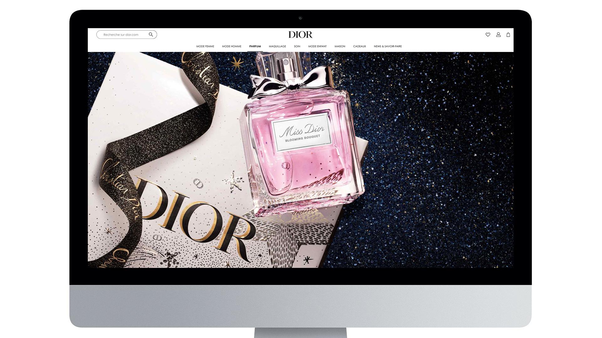 Illustration Xmas Dior 2020 12