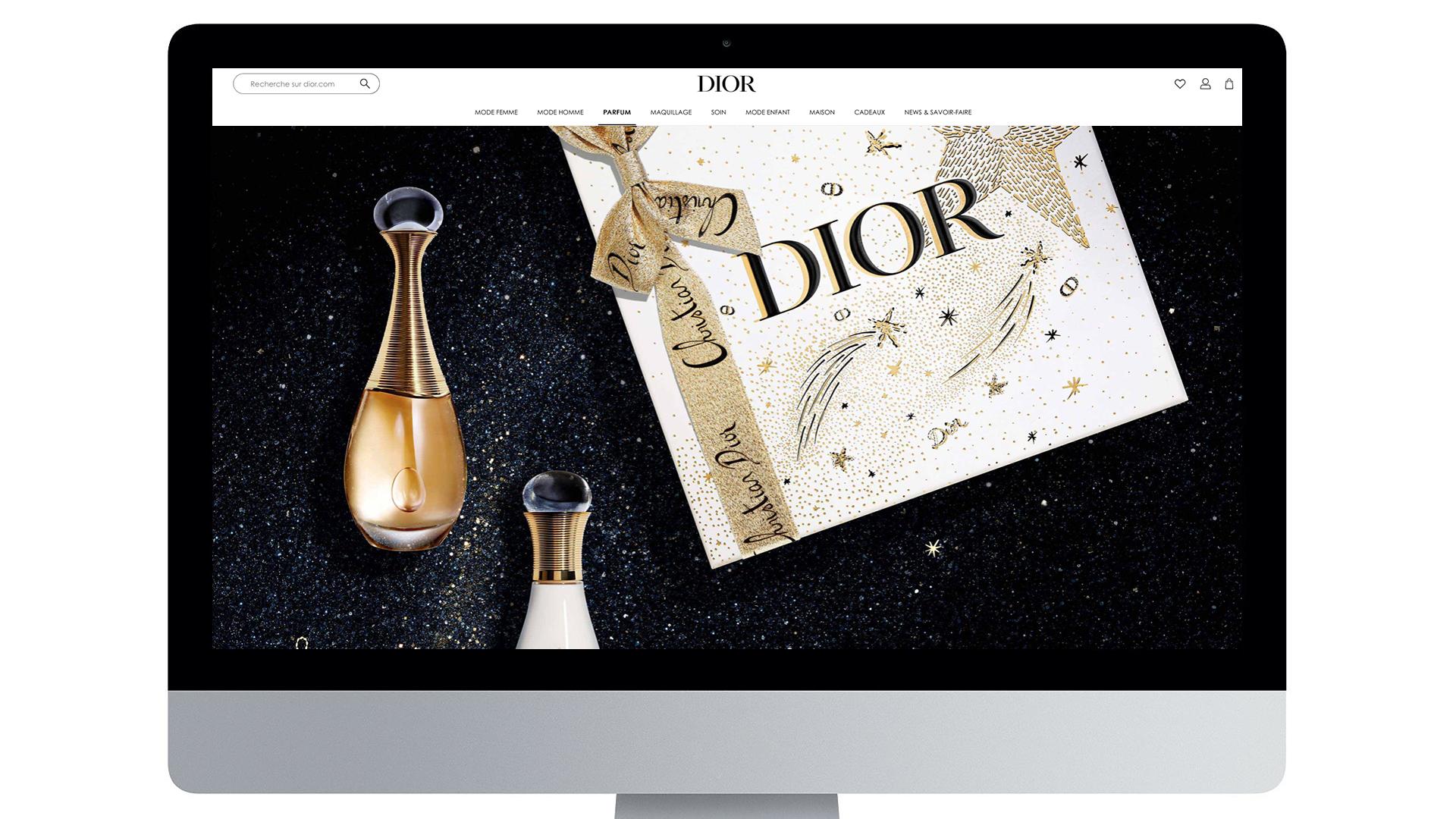 Illustration Xmas Dior 2020 9